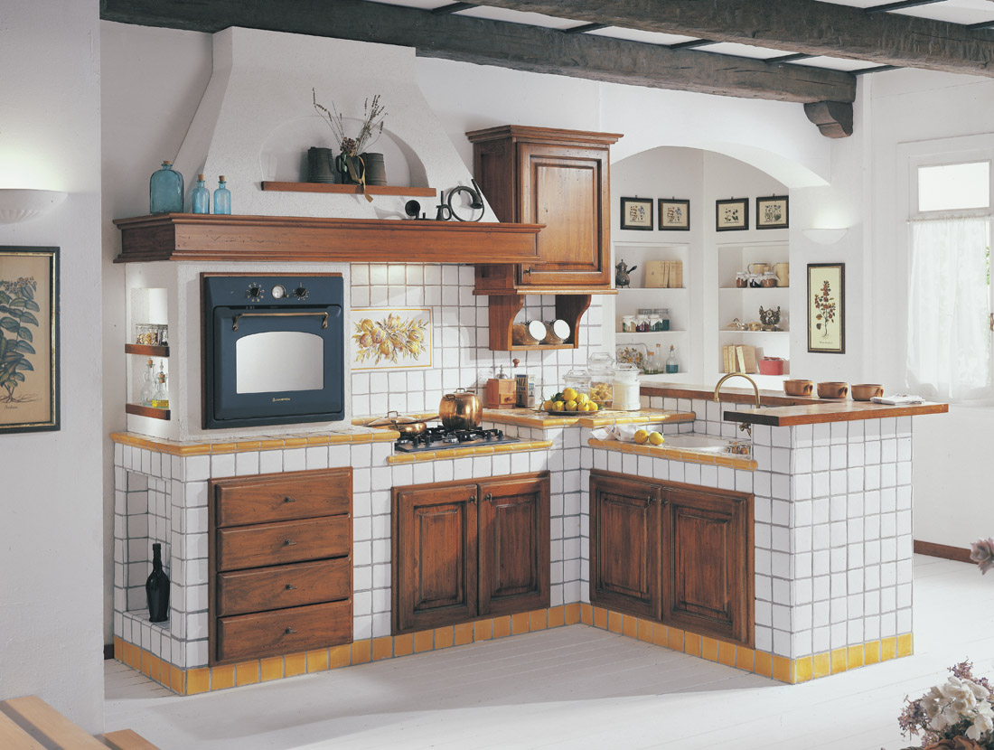 Arredo cucine in muratura : arredamenti cucine in finta muratura ...